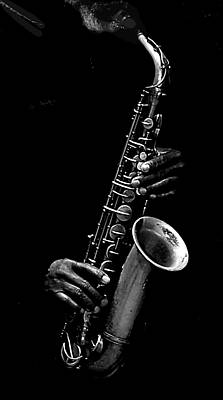SAX Poster by Kenneth Mucke