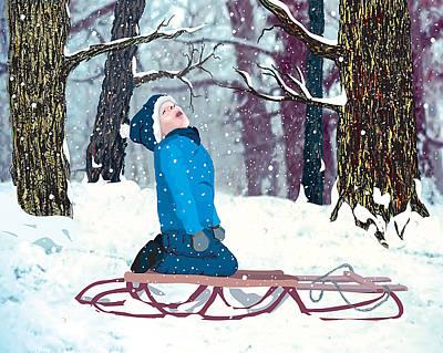 Snow Trance Poster