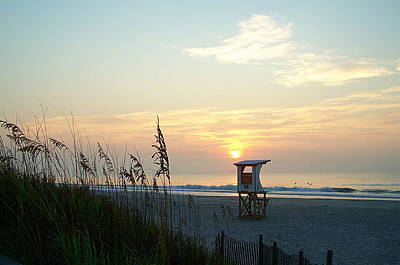 Sunrise Over Wrightsville Beach Poster