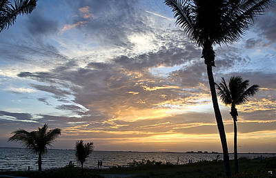 Sunset - Fort Myers Florida Poster