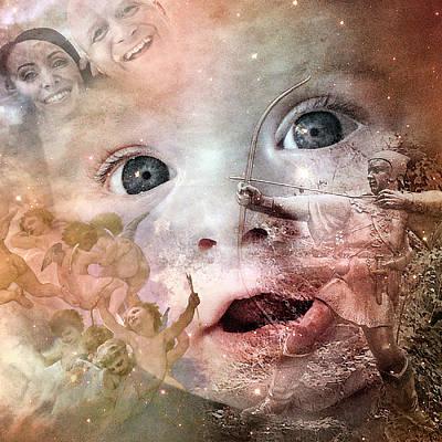 The Prophet On Children Poster by Barry Novis