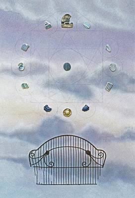 Poster featuring the painting Twelve by Laurie Stewart