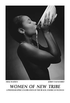 Women Of A New Tribe - Milk Maiden Poster by Jerry Taliaferro
