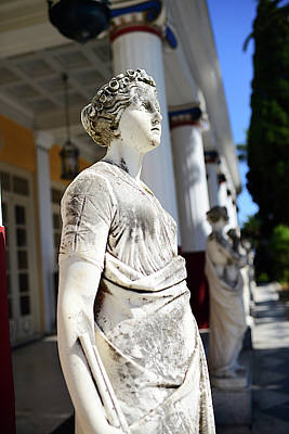 The Achilleion Palace In Corfu Art Print