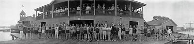 Baltimore Photograph - Arundel Boat Club Baltimore Md by Fred Schutz Collection