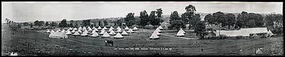 1917 Photograph - Camp Newayo, New York State Troopers by Fred Schutz Collection