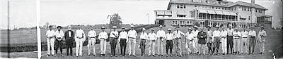 Black Commerce Photograph - Chamber Of Commerce Golf Outing by Fred Schutz Collection