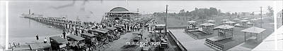 Town Pier Photograph - Colonial Beach Va by Fred Schutz Collection
