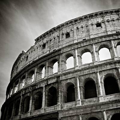 Landmarks Photos - Colosseum by Dave Bowman