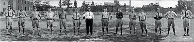 Cornell College Photograph - Cornell Baseball Team by Fred Schutz Collection