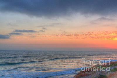 Photograph - Deep Orange California Sunset by Deborah Smolinske