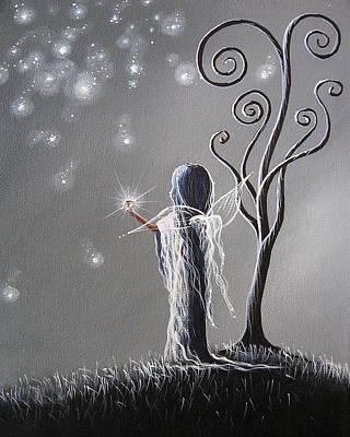 Surrealism Royalty Free Images - Diamond Fairy by Shawna Erback Royalty-Free Image by Fairy and Fairytale