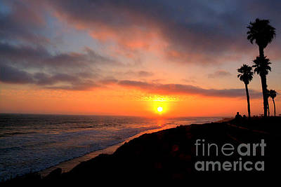 Photograph - Dog Beach Sunset 3 by Deborah Smolinske