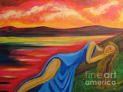 Dreaming At Sunrise Print by Diana Riukas