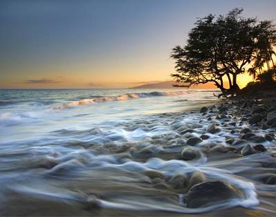 Beach Royalty-Free and Rights-Managed Images - Ebb and Flow by Mike  Dawson