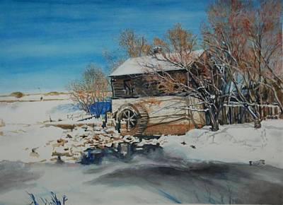 Grants Old Mill Art Print by Susan Moore