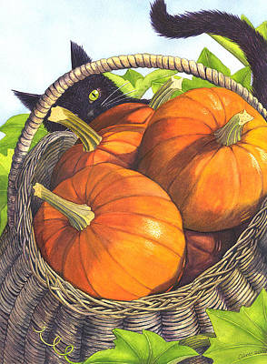 Eric Fan Whimsical Illustrations - Harvest by Catherine G McElroy