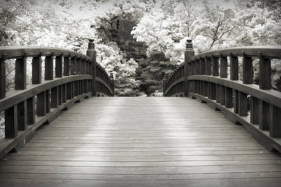 Going Green - Japanese Dream Infrared by Adam Romanowicz