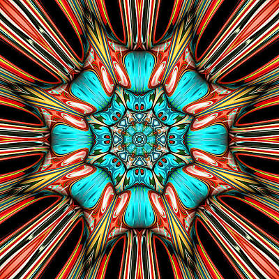 Contemporary Abstract Digital Art - Jillian by Wendy J St Christopher