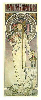 La Trappistine Print by Georgia Fowler