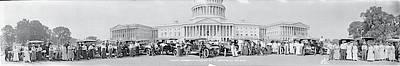 Lanscaster Automobile Club Washington Dc Art Print