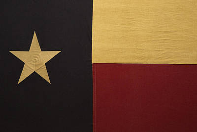 Abstract Oil Paintings Color Pattern And Texture - Lone Star Proud by Mez