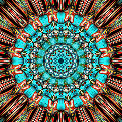 Contemporary Abstract Digital Art - Melanie by Wendy J St Christopher