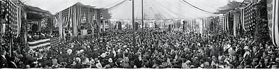 Rememberance Photograph - Memorial Day Arlington Va 1917 by Fred Schutz Collection