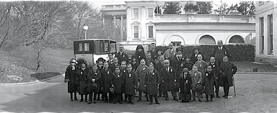 White House Photograph - Midgets Washington Dc by Fred Schutz Collection