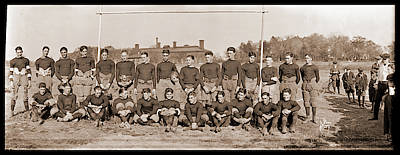 Mohawk Jr, Football Team, Oct 1921 Art Print