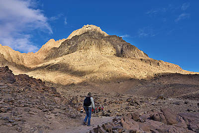 Sinai Photograph - Mount Sinai by Ivan Slosar