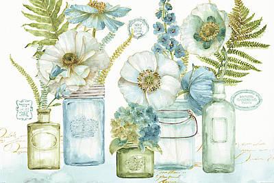 My Greenhouse Bouquet I Art Print