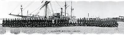 Cadet Photograph - Nautical School Ship Uss Ranger by Fred Schutz Collection