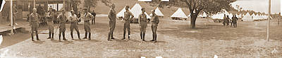 Fayetteville Photograph - Officers Camp Newayo New York State by Fred Schutz Collection