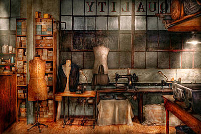 Dirty Linen Photograph - Sewing - Industrial - Quality Linens  by Mike Savad