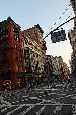 Downtown Area Photograph - Sunset In Soho Area by Nano Calvo