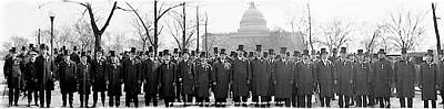 Inauguration Photograph - Tammany Democrats Washington Dc by Fred Schutz Collection