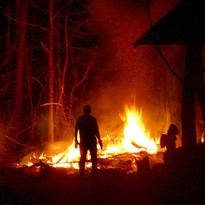 Photograph - The Fire Starter by Mike McGlothlen