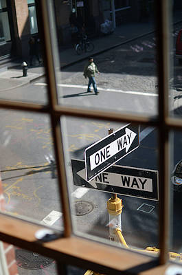 Downtown Area Photograph - View Of Soho From Window, New York City by Nano Calvo