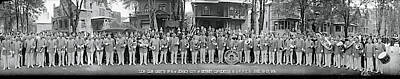 Marching Band Photograph - Zem Zem Grotto Detroit Mi by Fred Schutz Collection