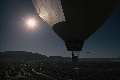 Solar Panels Etc Photograph - As The @sunstat@ Rises High by Otis Imboden