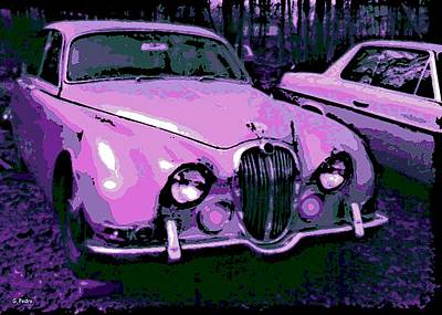 Smooth Ride Photograph - Classic In Pink by George Pedro