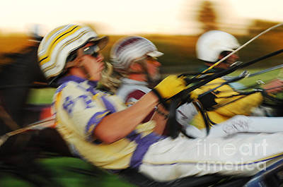 Harness Racing Photograph - Harness Racing 13 by Bob Christopher