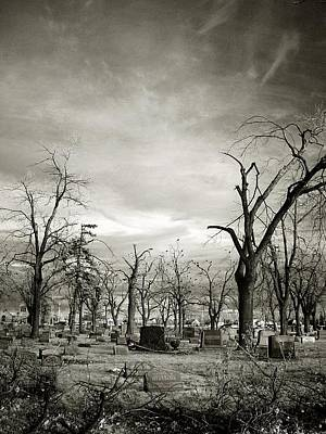 Graveyard Digital Art - Land Of The Lost Spirits by Gothicrow Images