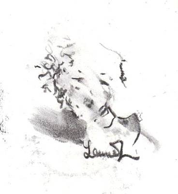 Drawing - Momere by Laurie L