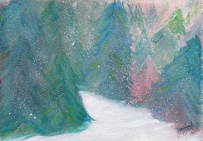 Painting - Winter by Joan Zepf