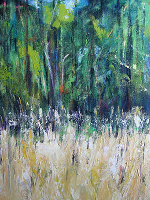 Painting -  Tall Grass by Debora Cardaci