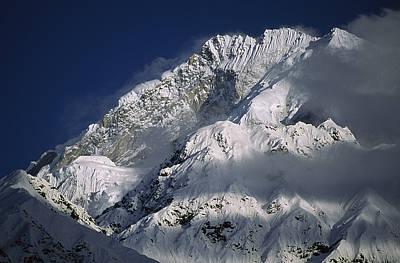 25,531 Foot Namche Barwa, Highest Peak Art Print by Gordon Wiltsie