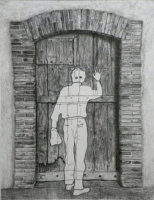Duchamp Drawing - Being Taken by Riccardo Alone