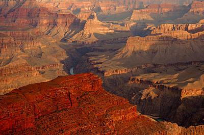 Grand Canyon At Sunrise Art Print